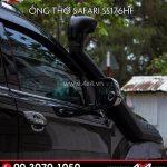 Ống thở Safari độ đẹp và ngầu cho xe bán tải Ford Ranger