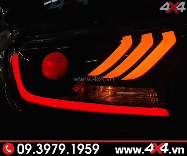 Đèn mắt quỷ và mí led đỏ độ đẹp và nổi bật cho Ford Ranger Raptor