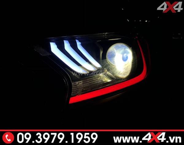Ford Ranger độ đèn trước kiểu Ford Mustang đẹp và ngầu