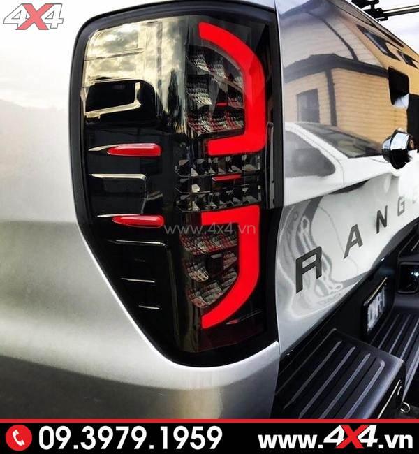 Mẫu đèn hậu kiểu chữ C dành độ đẹp cho xe Ranger Raptor