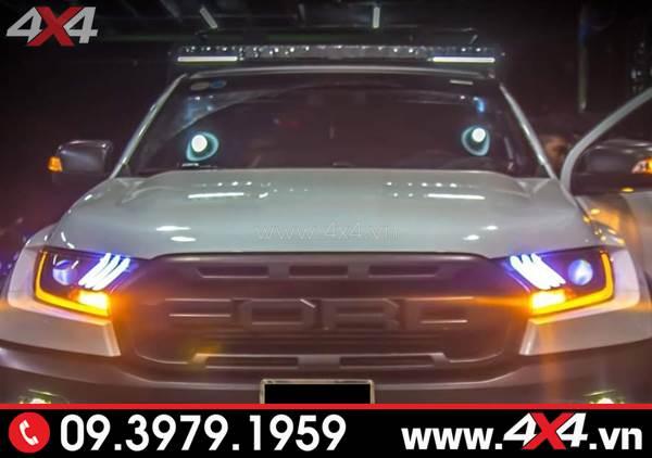 Đèn led bar Stedi gắn đẹp và đẳng cấp cho xe Ford Ranger Raptor
