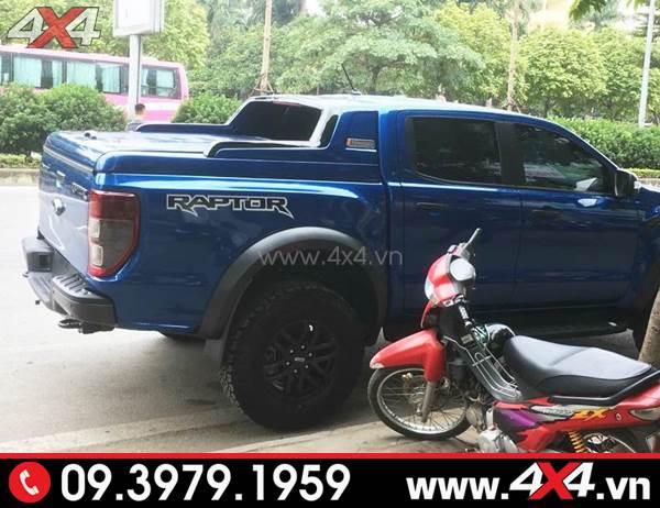 Nắp thùng thấp độ đẹp, cứng cáp cho xe Ford Ranger Raptor