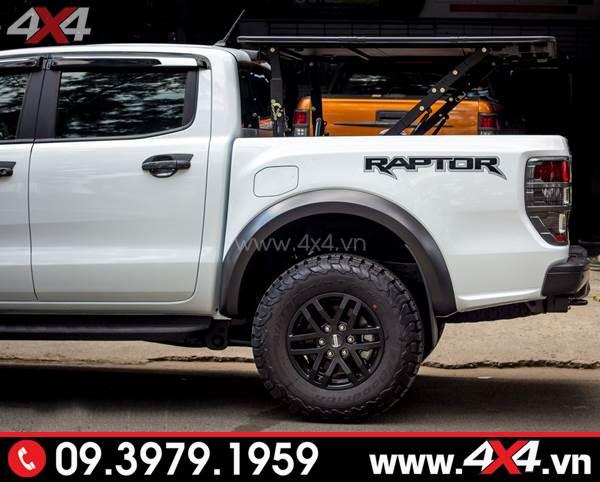 Nắp thùng Top flip top up độ chất cho xe Ford Ranger Raptor