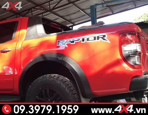 Ford Ranger Raptor 2018 2019 gắn thanh thể thao Wildtrak đẹp và cứng cáp