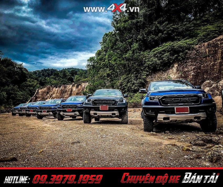 Xe bán tải Ford Ranger Raptor 2019