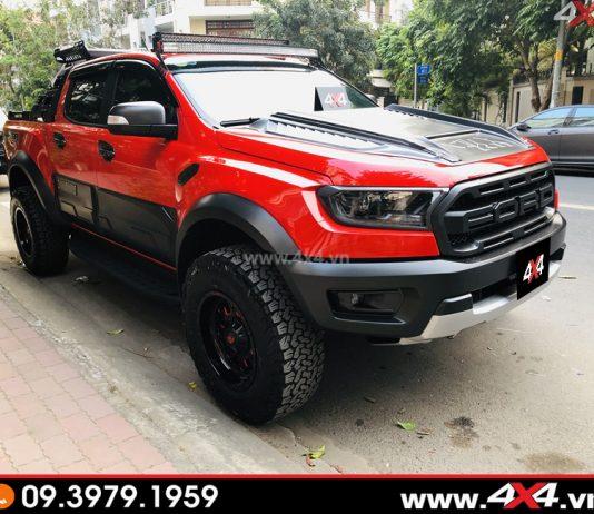 Xe bán tải Ford Ranger Raptor 2019 độ tại 4x4.vn