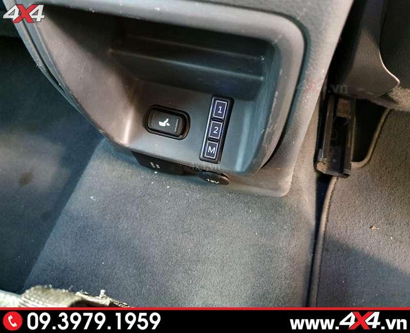 nút điều khiển ghế chỉnh điện bán tải Ford Ranger