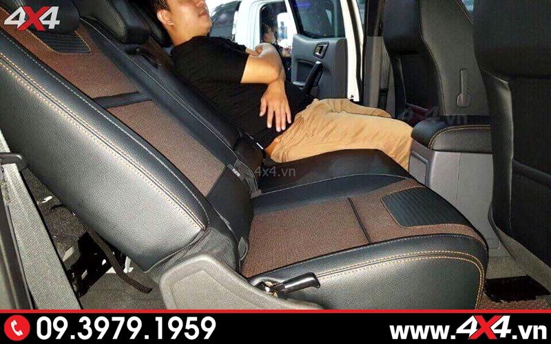 ghế chỉnh điện Ford Ranger thoải mái và sử dụng dễ dàng