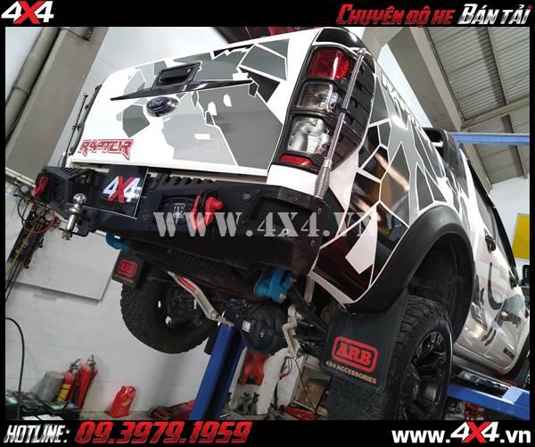 gắn thanh cân bằng cho xe Ford Rnger tại 4x4