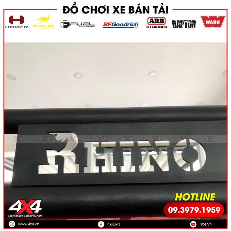 Baga mui Rhino độ đẹp, chất và đẳng cấp dành cho các dòng xe bán tải