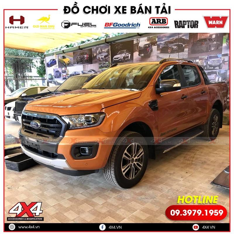 Xe bán tải Ford ranger Wildtrak zin trước khi đc độ lên thành Ranger Raptor