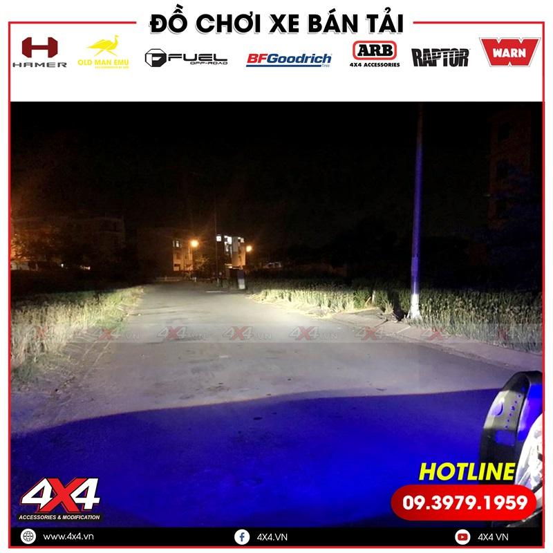 Độ đèn tăng sáng cho xe bán tải Ford Ranger giúp xe đi đêm an toàn hơn