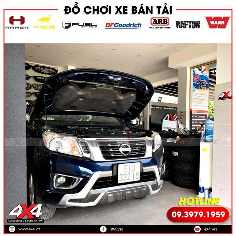 Xe bán tải Nissan Navara độ ghế chỉnh điện tại 4x4 Workshop HCM