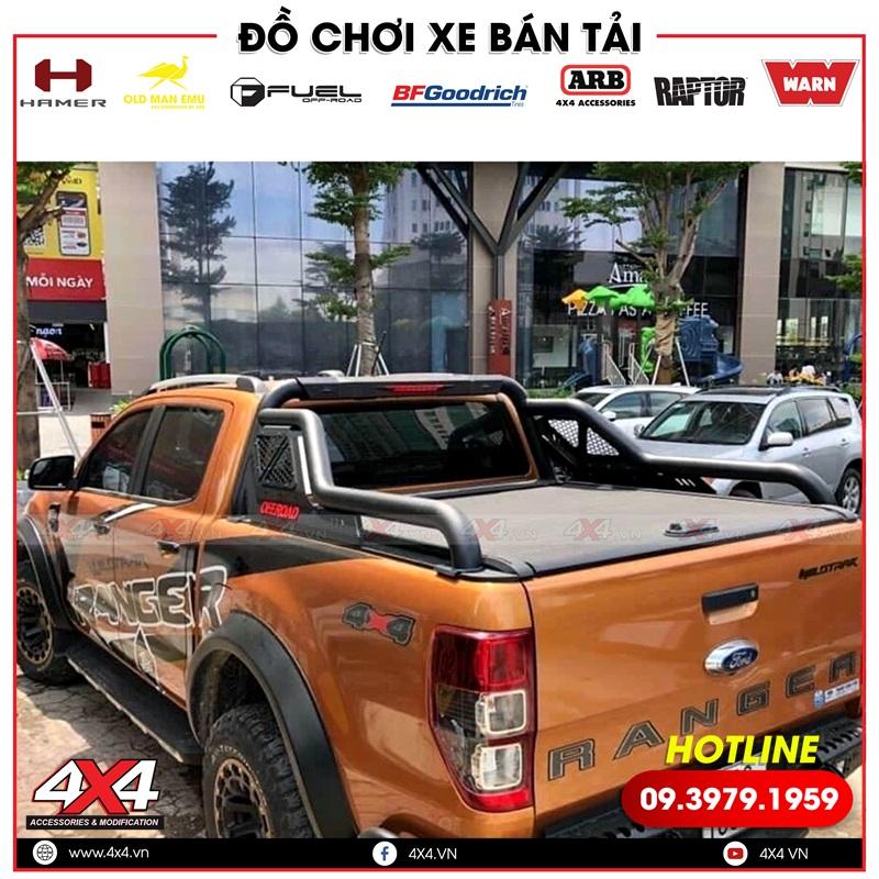 Xe bán tải Ford Ranger độ đẹp với thanh thể thao Offroad