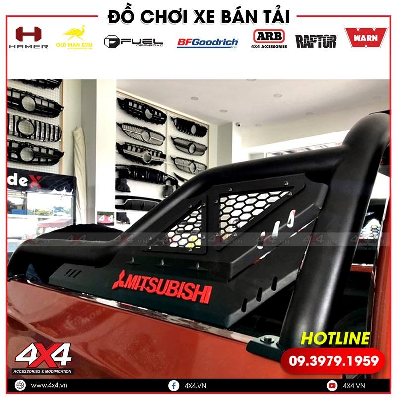 Thanh thể thao Offroad độ đẹp và chất dành cho xe bán tải Mitsubishi Triton