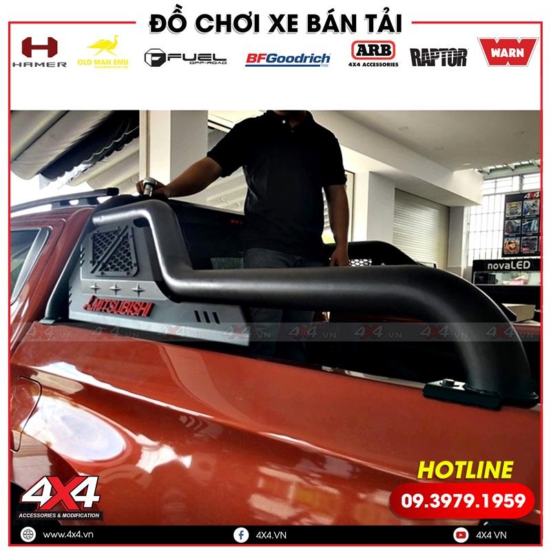 Thanh thể thao Offroad đẹp và cứng cáp độ dành riêng cho dòng xe bán tải Mitsubishi Triton