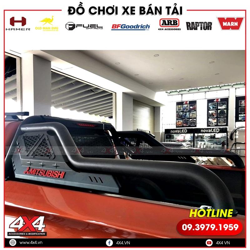 Thanh thể thao Offroad độ đẹp, cứng cáp dành riêng cho dòng xe bán tải Mitsubishi Triton