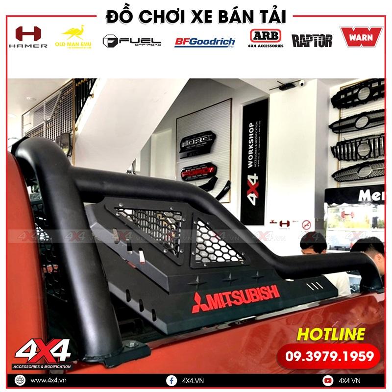 Xe bán tải Mitsubishi Triton độ thanh thể thao Offroad giúp xe đẹp hơn và cứng cáp hơn