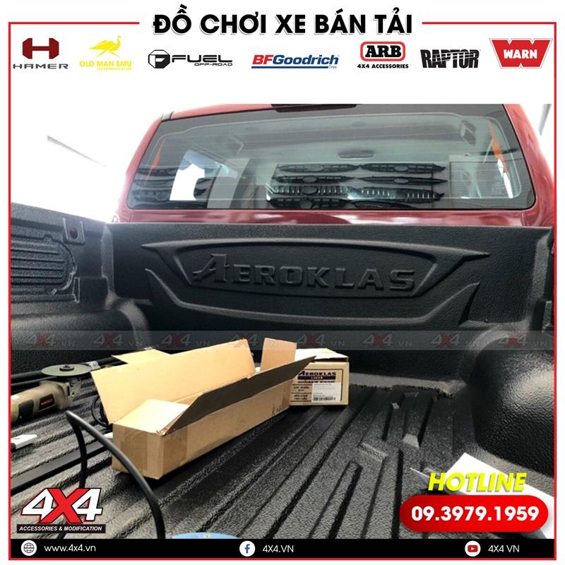 Lót thùng Aeroklas độ giúp chống trầy cho thùng xe bán tải Ford Ranger