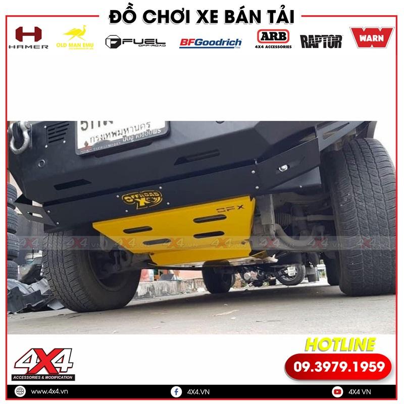 Xe bán tải độ giáp gầm OFX Thái Lan