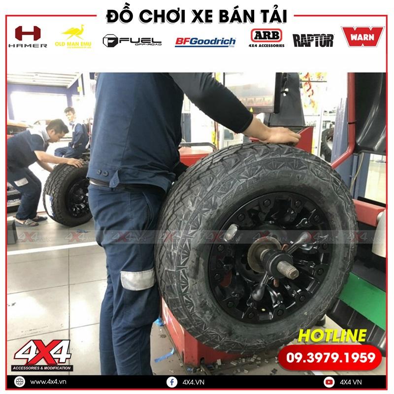 Mâm Fuel Vapor dành độ cho xe bán tải Toyota Hilux