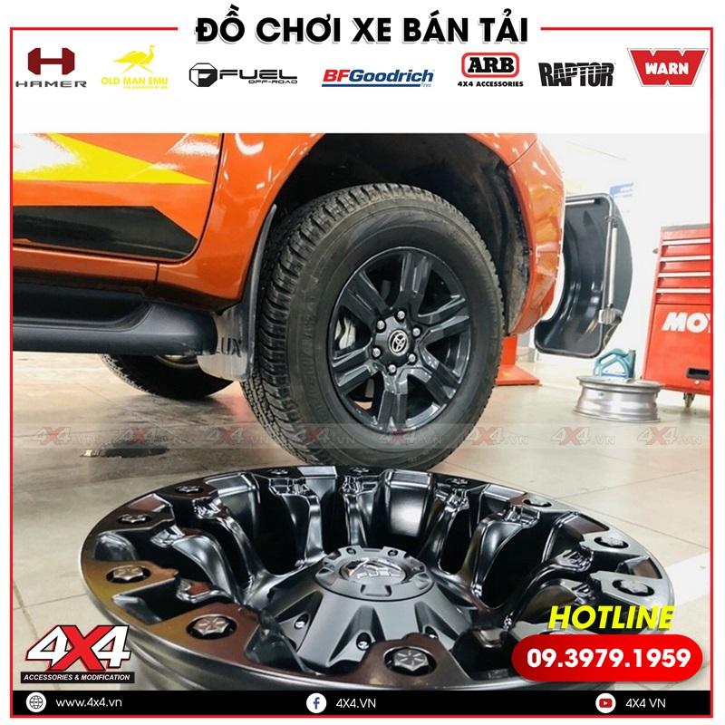 Mâm Fuel Vapor độ đẹp, chất và đẳng cấp cho xe bán tải Toyota Hilux