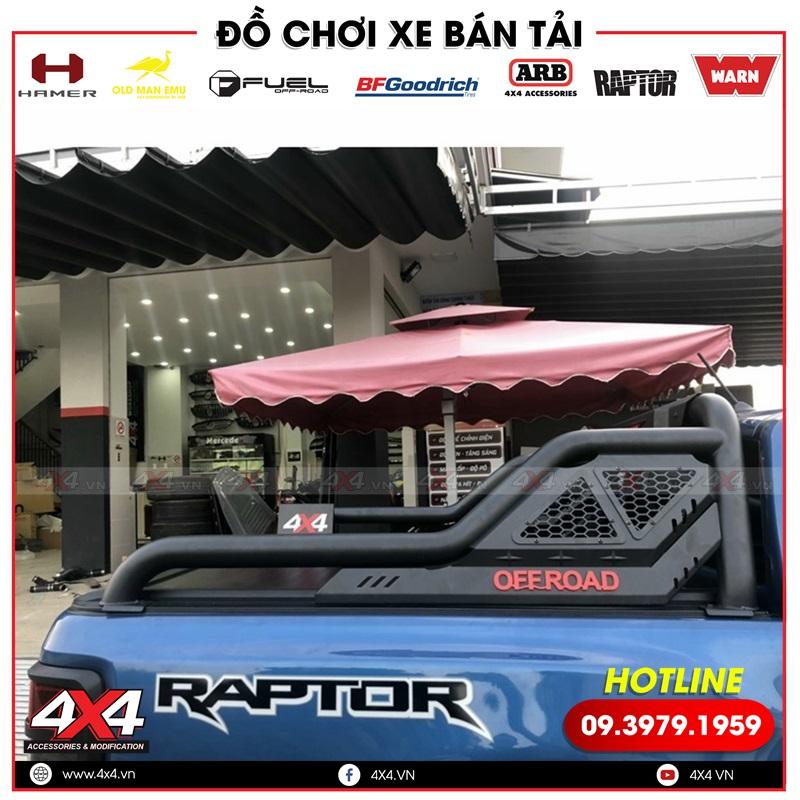 Xe bán tải Ford Ranger Raptor độ thanh thể thao Offroad đẹp và chất