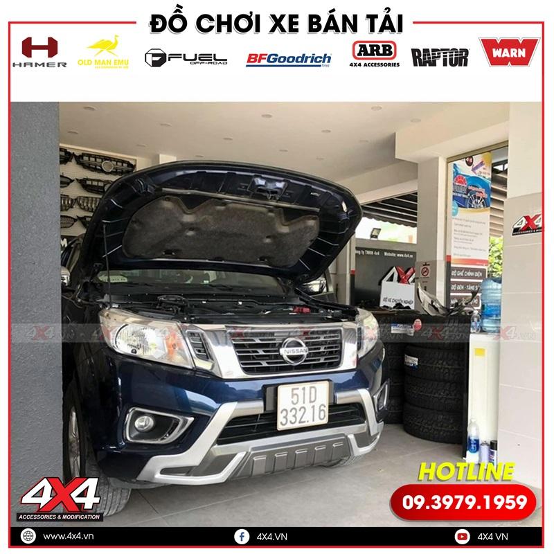 Xe bán tải Nissan Navara độ hàng ghế chỉnh điện tại xưởng độ xe 4x4 TPHCM
