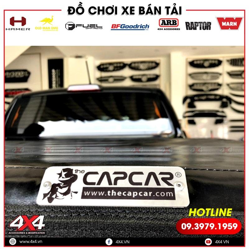Nắp thùng cuộn Capcar độ đẹp và gọn nhẹ dành cho xe bán tải Ford Ranger