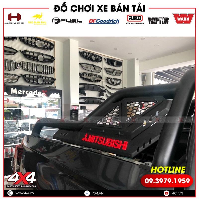 Thanh thể thao Offroad dành độ cho xe bán tải Mitsubishi Triton