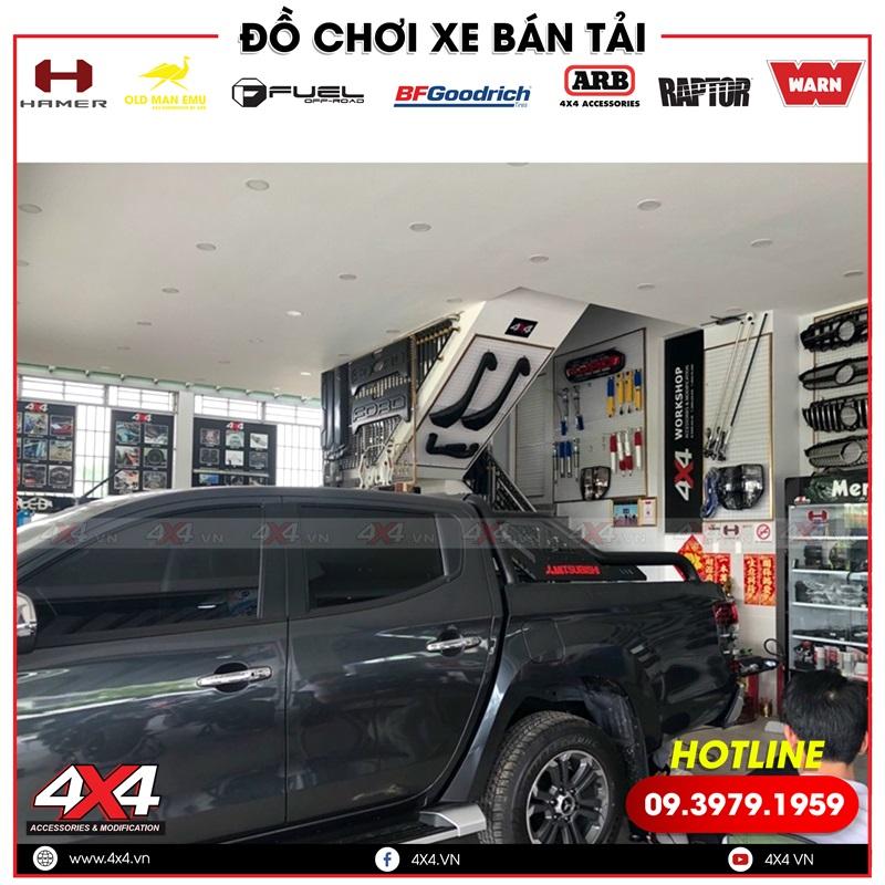 Xe bán tải Mitsubishi Triton độ thanh thể thao Offroad tại 4x4